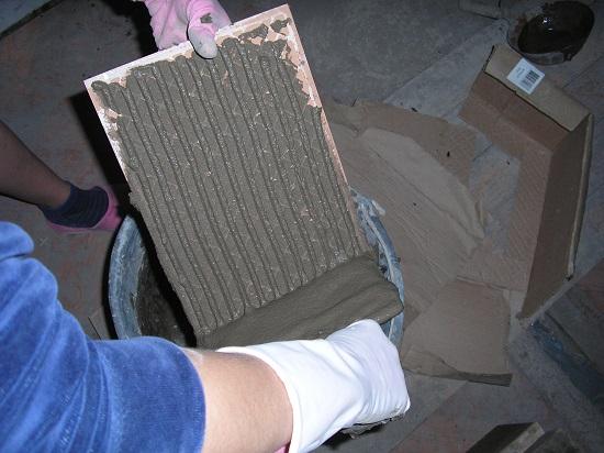 консистенция клея для плитки