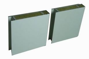 металлические панели с утеплителем