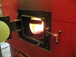 котел отопления на дровах