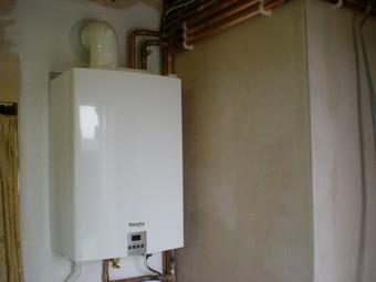 провести отопление в частном доме