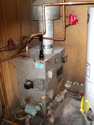 схема монтажа системы отопления