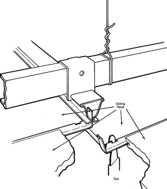как сделать навесной потолок