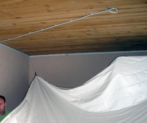 зажимы крокодилы для натяжного потолка