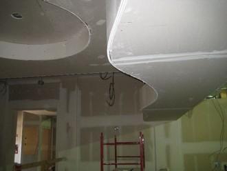 потолки фигурные из гипсокартона
