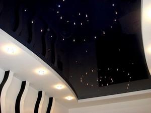 светодиодные потолки натяжные