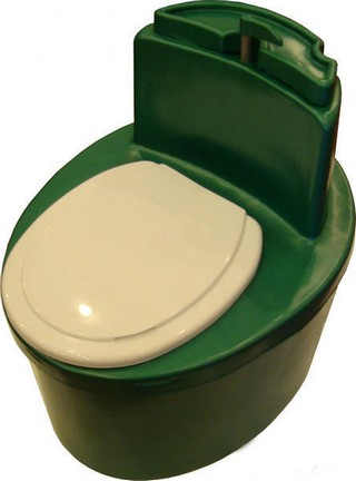 торфяной туалет компакт