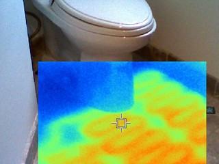 как сделать теплый туалет