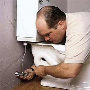 как установить туалет