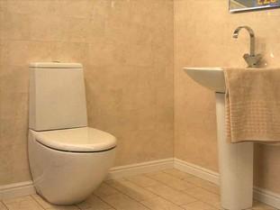 отделка туалета панелями