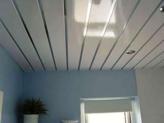 подвесной потолок в туалете