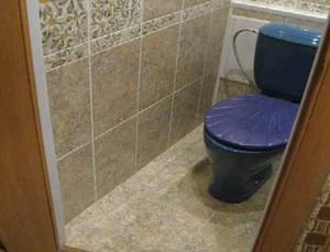 ванна и туалет в хрущевке