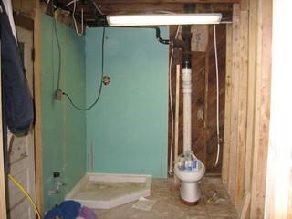сделать туалет в частном доме