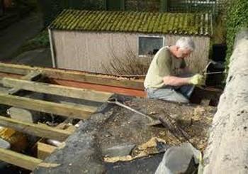 про ремонт старой крыши и водосток
